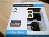 BELKIN Cell Phone Accessory CHARGER KIT IPHONE 4